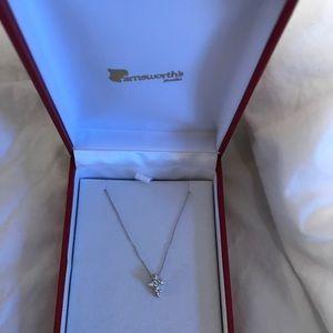 Jewelry - Cross small diamond necklace